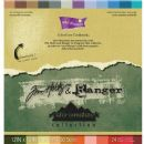 Adirondack Core'dinations - Tim Holtz - 12x12 Textured Colour Core Cardstock Pack 24 Sheets